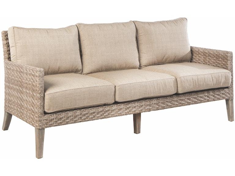 Alfresco Home 46-1208 OutdoorPatio Cornwall Deep Seating Sofa