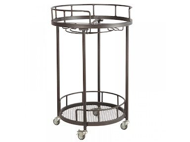 Alfresco Home 20 Round Serving Cart Base 21-0373