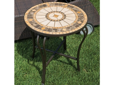 Alfresco Home Compass 20 Round Side Table Top 21-0833-T