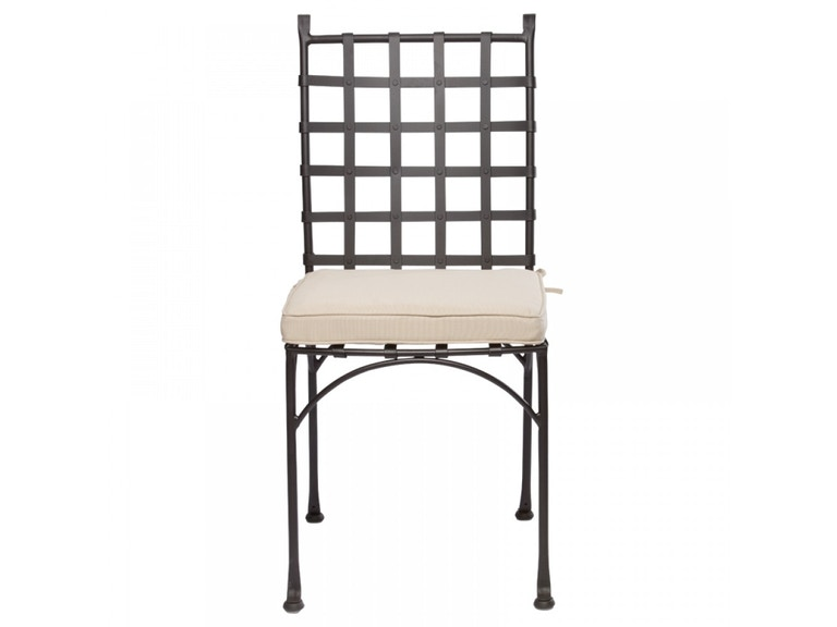 Alfresco Home 21-7302 OutdoorPatio Checker Bistro Side Chair with ...