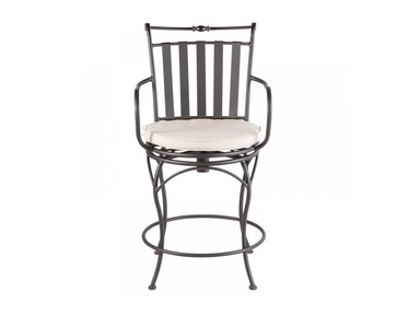 Alfresco Home Classico Gathering Swivel Arm Chair 21-7900