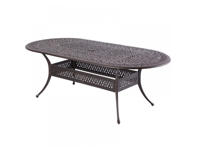 Alfresco Home Kaleidoscope 87 x 42 Oval Dining Table 22-0309-AW