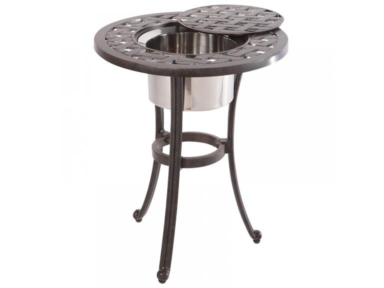 Alfresco Home 22-0378A-AF OutdoorPatio Weave 21 Round Beverage ...