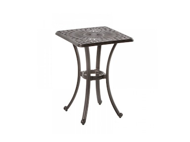 Alfresco Home Florentine 21 Square Gathering Side Table 22-1076-AB