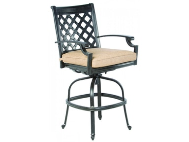 Alfresco Home Lattice Gathering Swivel Chair frame only 22-1112-AF
