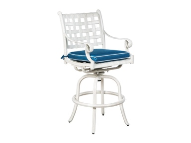 Alfresco Home Chateau Bar Swivel Arm Chair 22-1213-VW