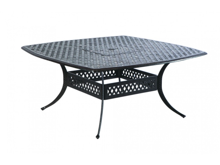 Alfresco Home 22-1388-AF OutdoorPatio Weave 64 Square Dining Table ...
