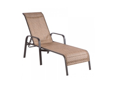 Alfresco Home Charter Sling Stackable Chaise 22-9749-AW