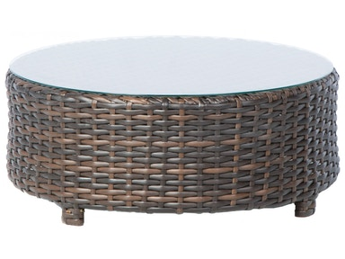 Alfresco Home Amalfi 37 Round Coffee Table/Ottoman 43-1126