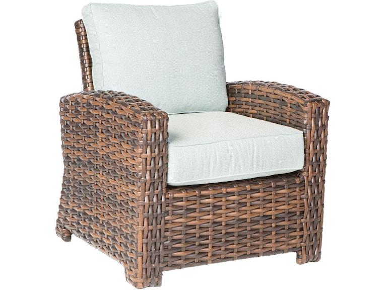 Alfresco Home OutdoorPatio Amalfi Deep Seating Lounge Chair 43 ...