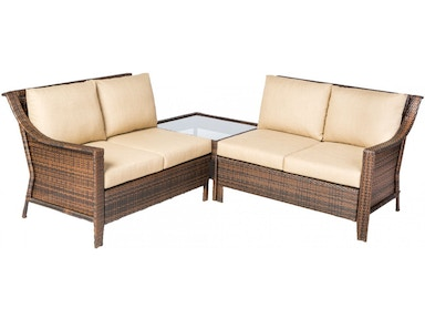 Alfresco Home Logan Iron Sectional Group 43-1278