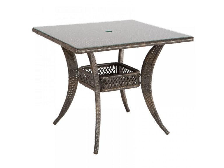 Alfresco Home 43-9203 OutdoorPatio Tutto 36 Square Dining Table ...