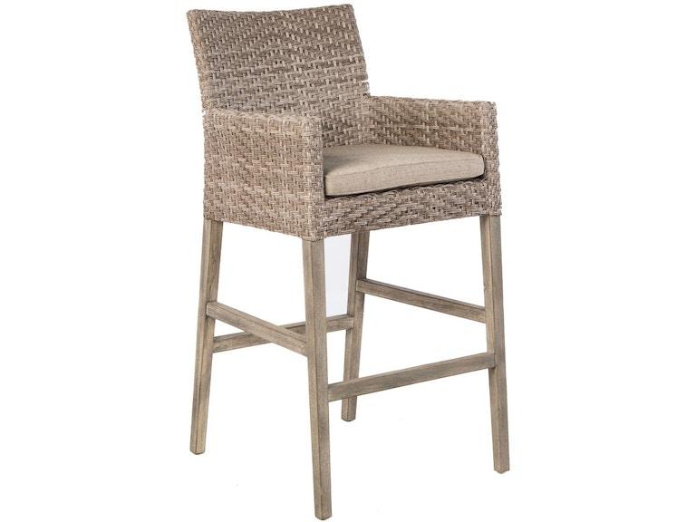 Alfresco Home 46-1202 OutdoorPatio Cornwall Bar Chair
