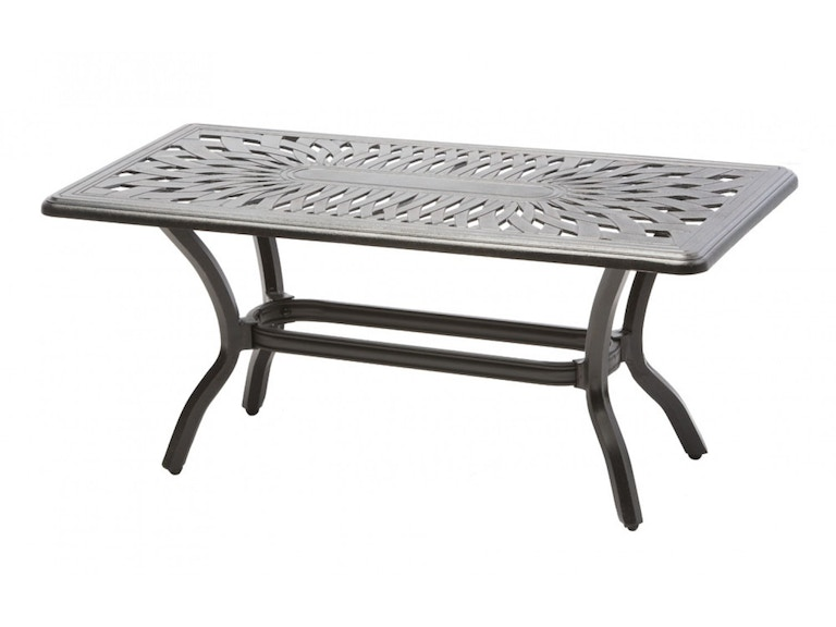 Alfresco Home OutdoorPatio Bay Leaf 42 Rect. Coffee Table 54-1302 ...