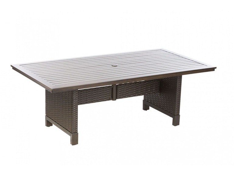 Alfresco Home 54-1381 OutdoorPatio La Lima 84 Rect. Dining Table w ...