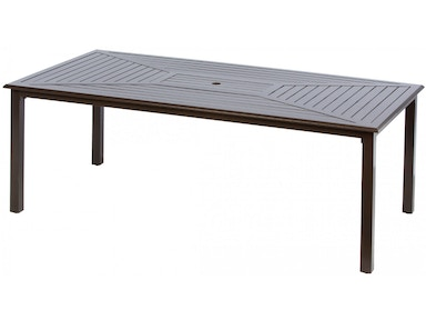 Alfresco Home Plank 84 rectangle Dining Table 55-1182