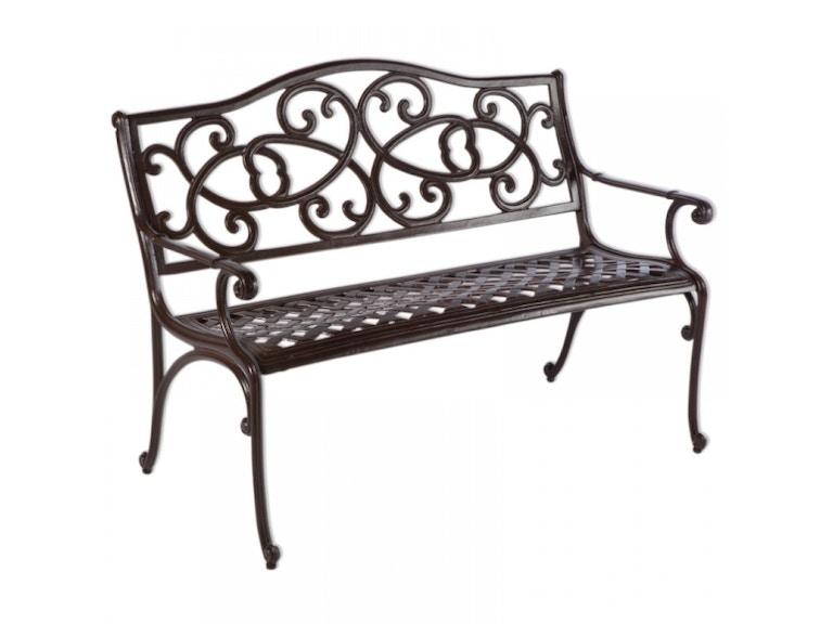 Alfresco Home 55-6023-BS OutdoorPatio Wisteria Garden Bench