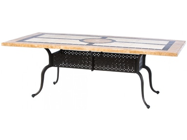 Alfresco Home Modena 84 Rectangle Dining Table (Base only) 58-1153T