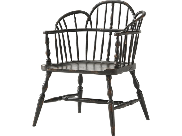 Outstanding Theodore Alexander Furniture Am42002 Living Room Rustic Short Links Chair Design For Home Short Linksinfo