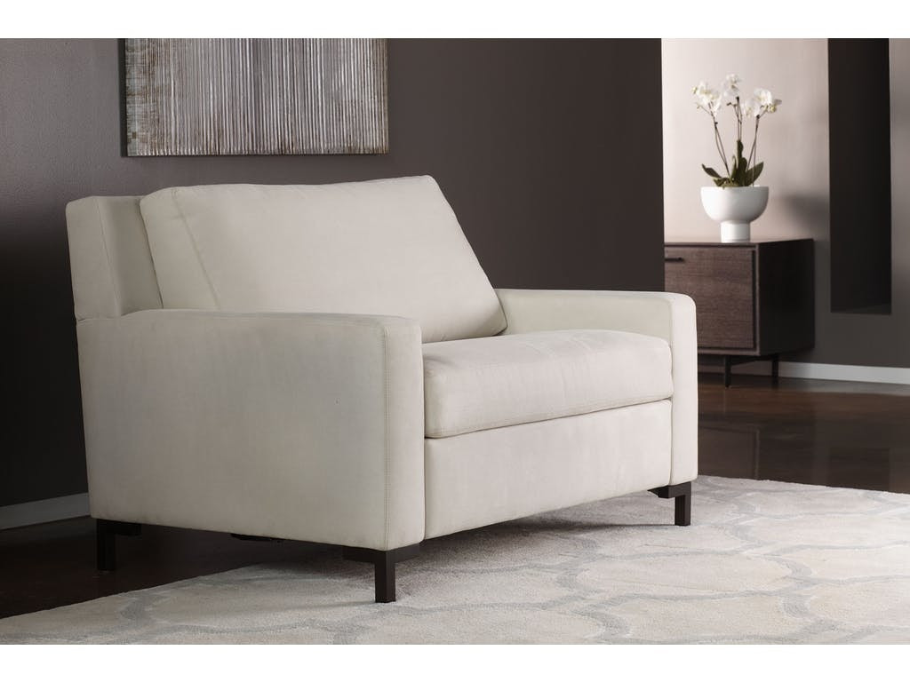 American Leather Chair And A Half Twin Sleeper BRY CH2 TS