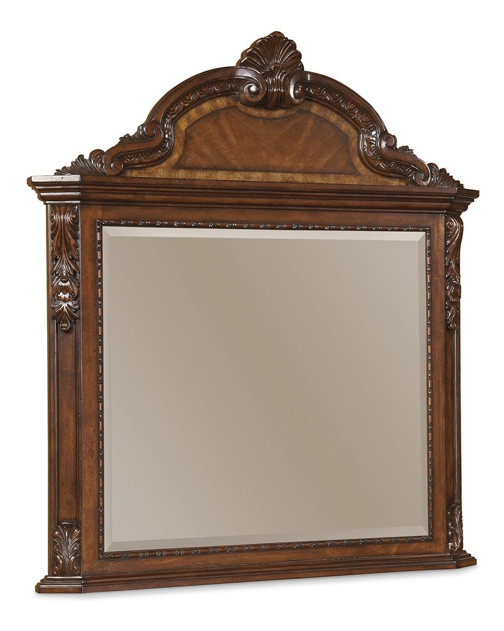 ART Furniture Old World Crowned Landscape Mirror 143121 2606