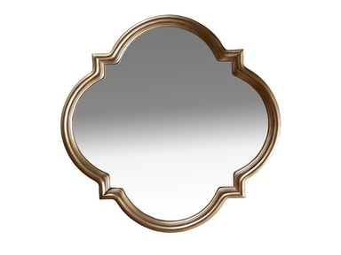 ART Furniture Cosmopolitan Shaped Mirror - White Bronze 208120-2627