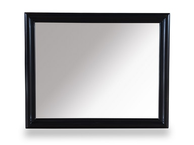 ART Furniture Cosmopolitan Landscape Mirror - Ebony 208121-1815