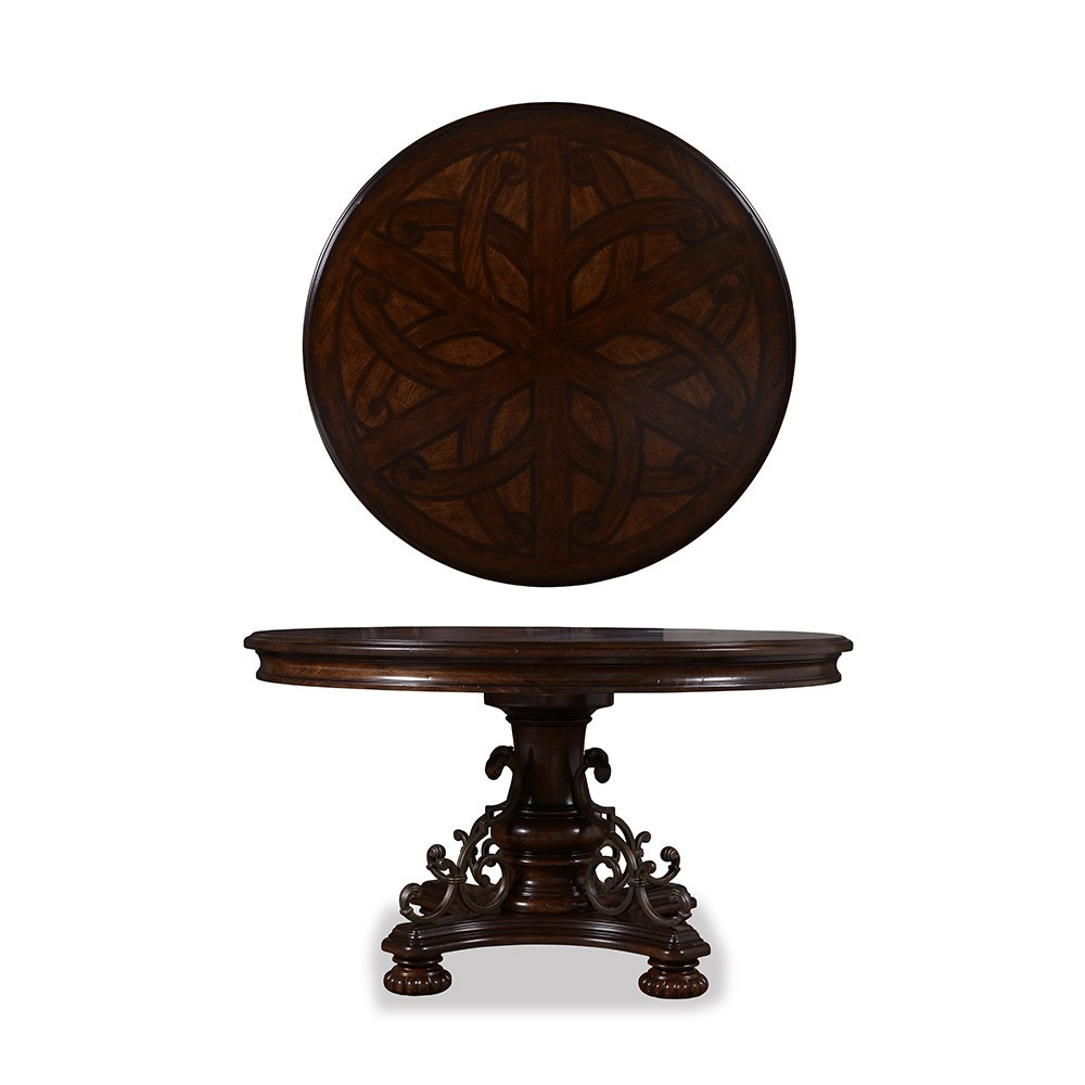Great ART Furniture Valencia Round Dining Table 209224 2304