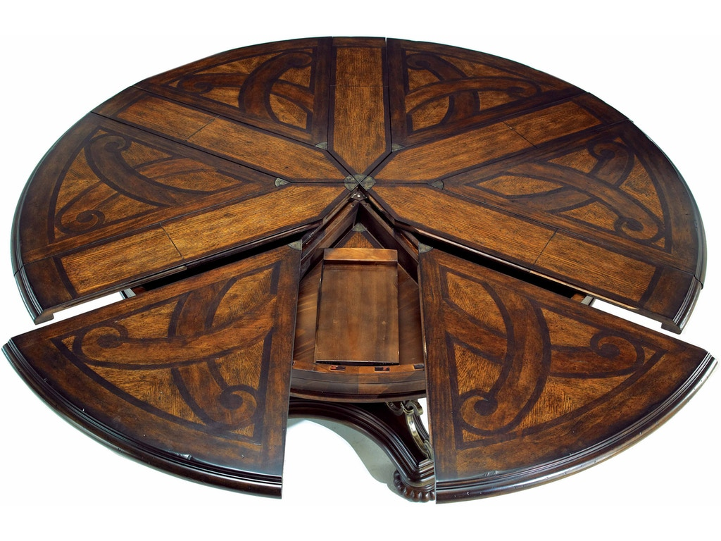 ART Furniture 209225-2304 Dining Room Valencia Round Dining Table ...