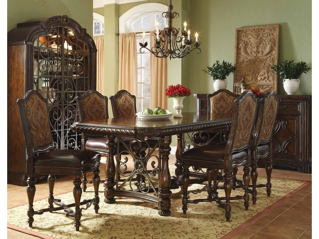 Art Furniture 209242 2304 Dining Room Valencia Wine Cabinet