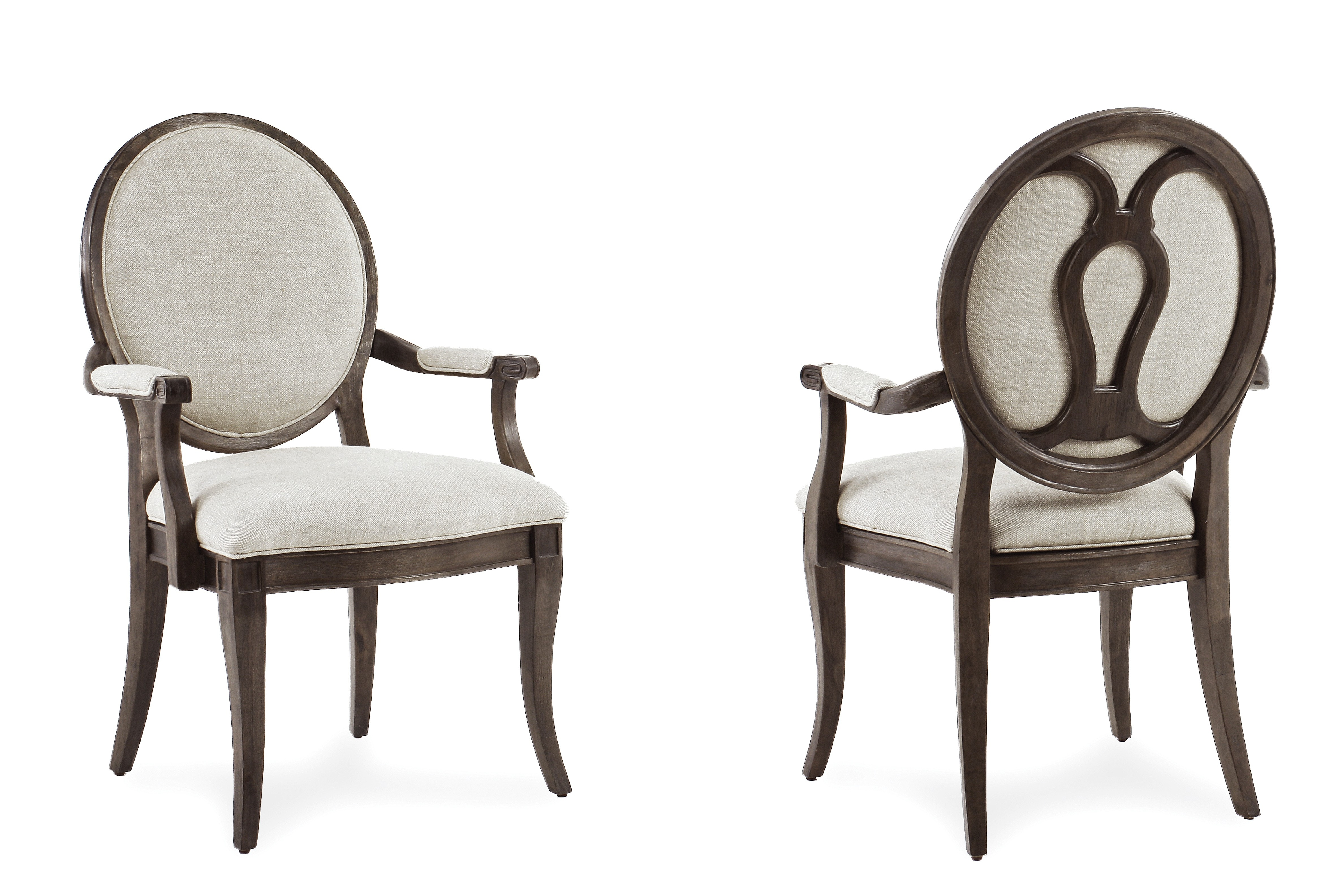 ART Furniture St. Germain Oval Back Side Chair 215202 1513