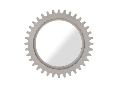 ART Furniture Epicenters Williamsburg Round Mirror - White 223122-2617