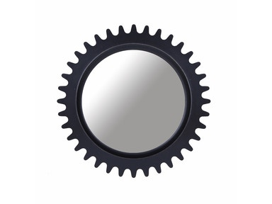 ART Furniture Epicenters Williamsburg Round Mirror - Black 223122-2618