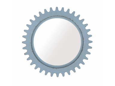 ART Furniture Epicenters Williamsburg Round Mirror - Blue 223122-2621