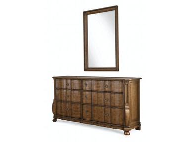 ART Furniture Continental - Dresser - Weathered Nutmeg 237131-2624