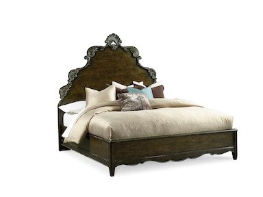 ART Furniture Continental - 6/0 Panel Bed - Vintage Continental 237137-2615