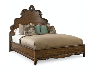 ART Furniture Continental - 6/0 Panel Bed - Weathered Nutmeg 237137-2624