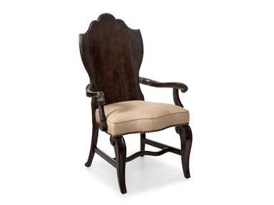 ART Furniture Continental - Wood Back Arm Chair - Vintage Melang 237205-2615