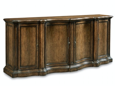 ART Furniture Continental - Shaped Sideboard - Weathered Nutmeg 237251-2624