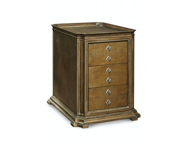 ART Furniture Continental - Storage End Table - Crackle Bronze 237304-2626