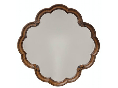 ART Furniture Continental - Round Mirror - Weathered Nutmeg 237123-2624