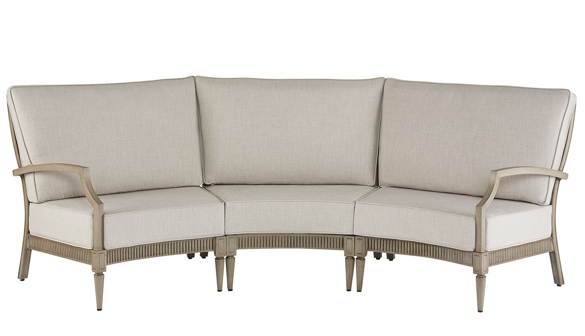 ART Furniture 9185284242 OutdoorPatio Sullivan Sectional Includes