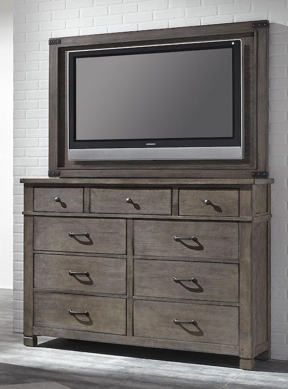aspenhome Furniture I45-487 Home Entertainment Tucker TV Frame with ...