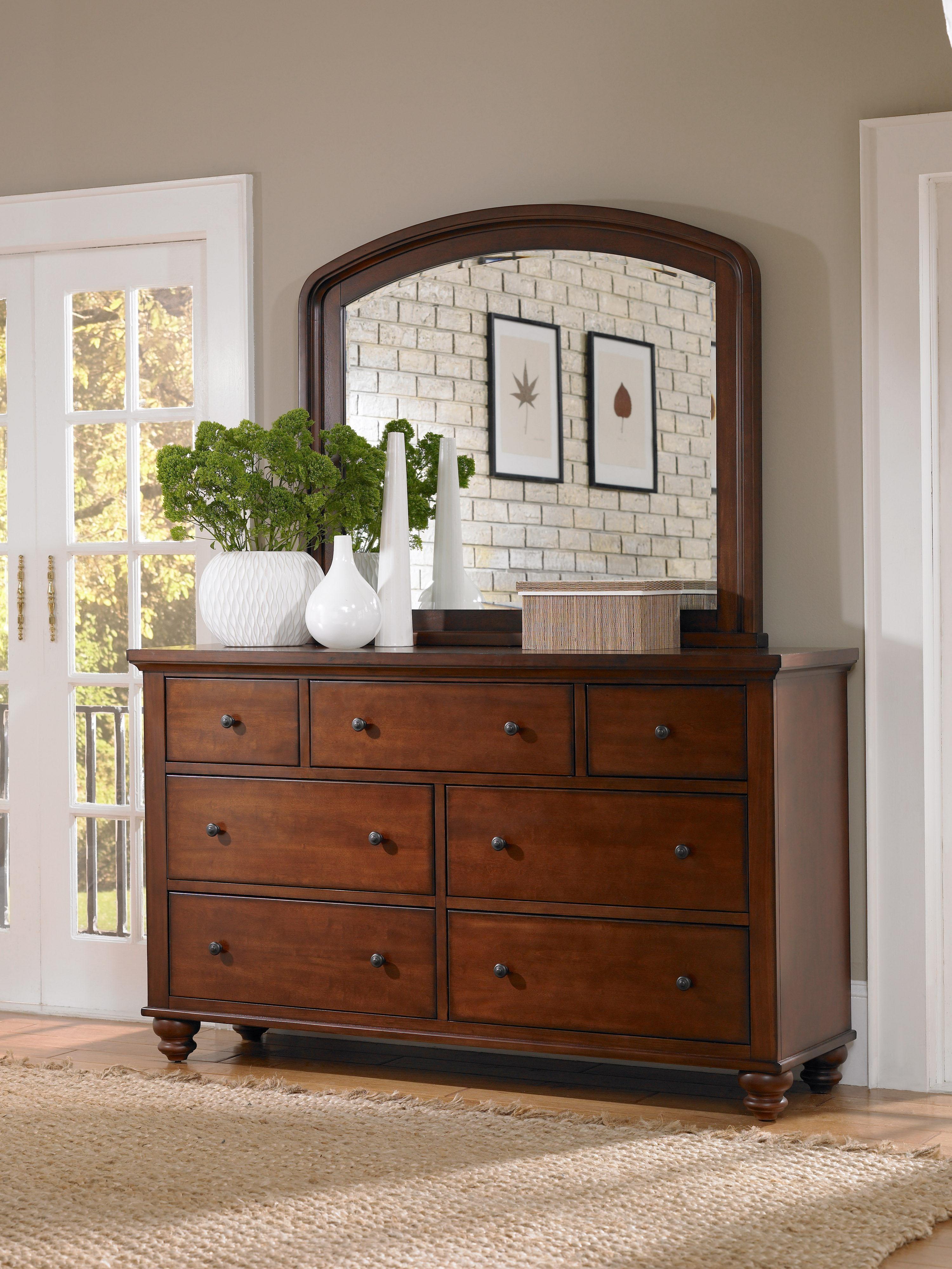 Aspenhome Furniture Cambridge Double Dresser ICB 454 BCH 4