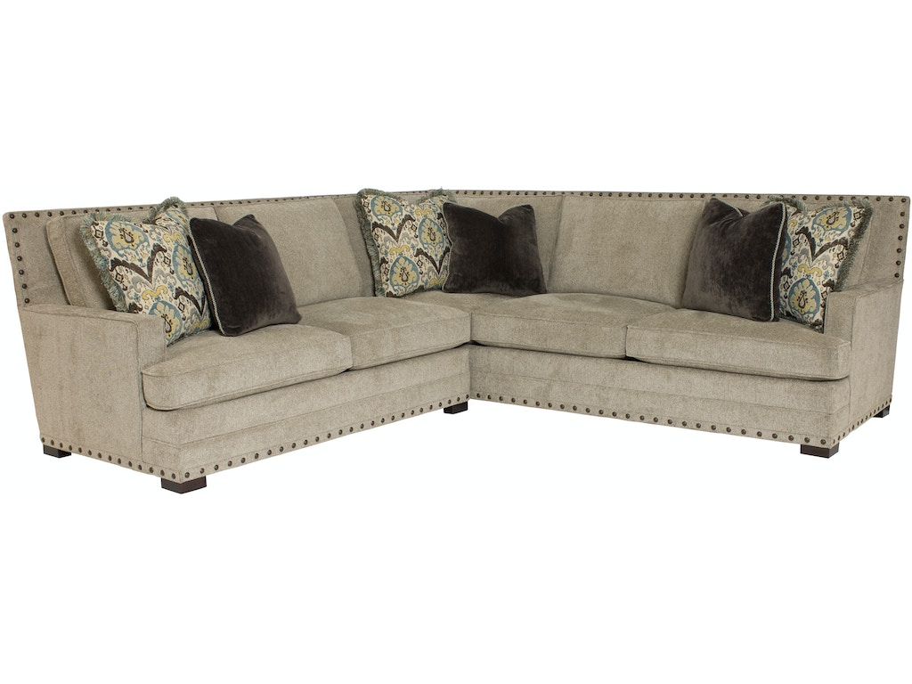 Bernhardt Furniture B3842 B3893 Living Room Cantor Sectional