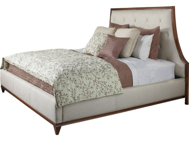 Baker Furniture Barbara Barry Lyric Tufted Queen Bed 3624Q-1