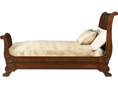 Baker Furniture Stately Homes Sleigh Bed (King) 5226-06
