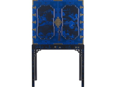 Baker Furniture Stately Homes George III Oriental Lacquer Cabinet 5370