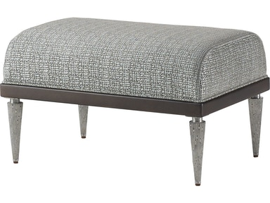 Baker Furniture Jean-Louis Deniot Jasper Ottoman 6184O