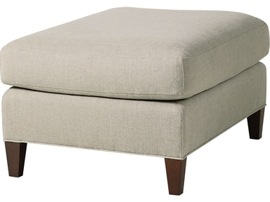 Baker Furniture Thomas Pheasant Villa Ottoman 6327-11